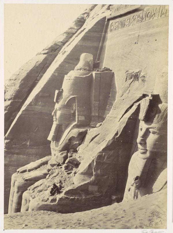 Francis Frith Abou Simbel Nubia