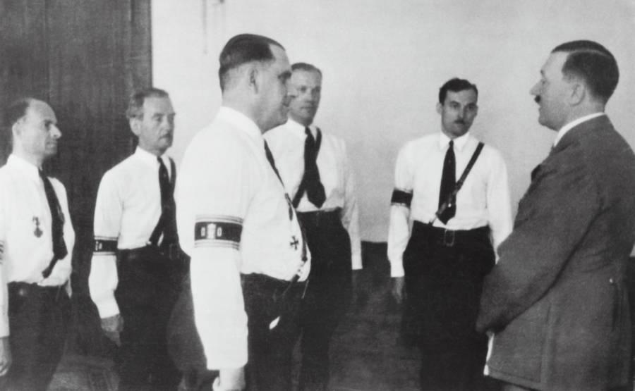 Fritz Kuhn Adolf Hitler