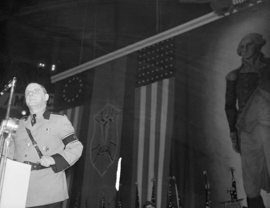 George Washington Fritz Kuhn