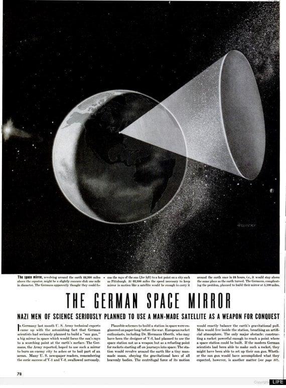 German Space Mirror