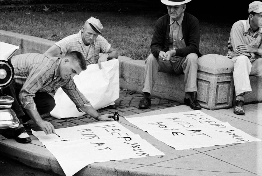 Hattie Cotton Desegregation Protest