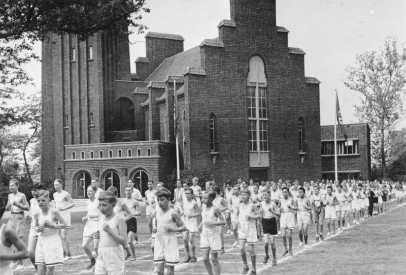 Hitler Youth Running