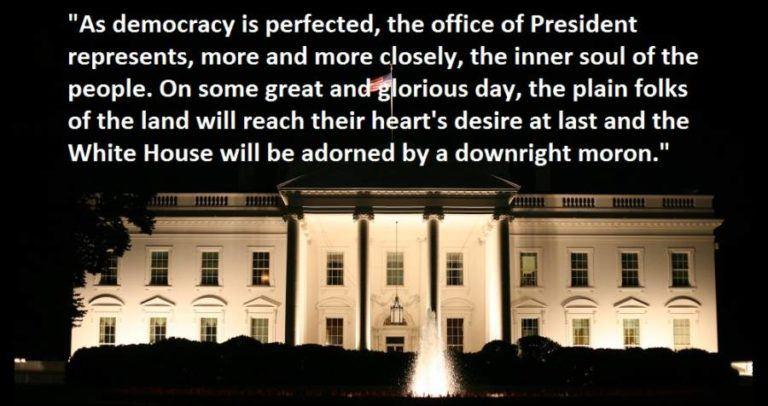 Hl Mencken American Democracy