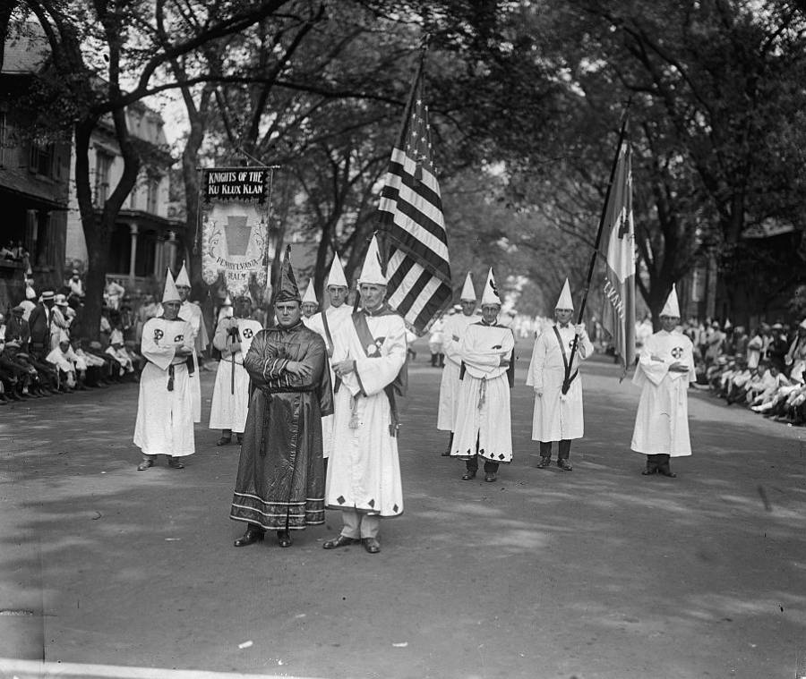 Holding Flags