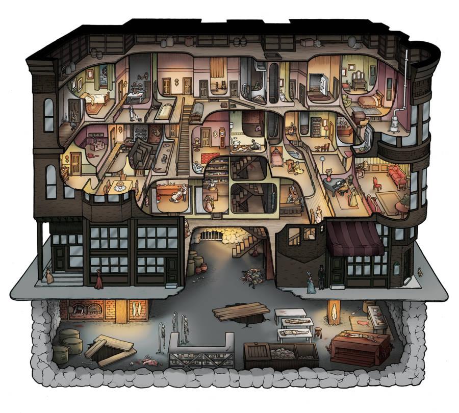 H.H. Holmes Murder Mansion