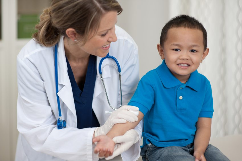 Kid At Doctor