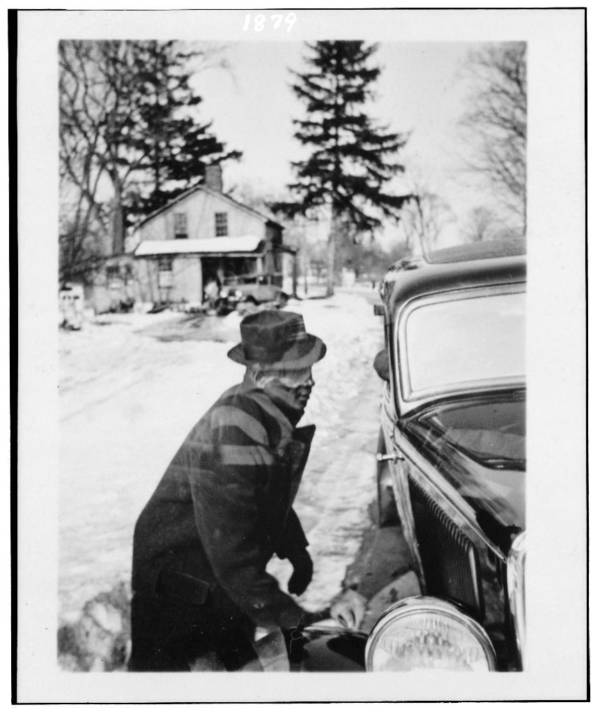 Leadbelly At His Car