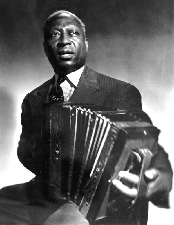 Leadbelly Plays Accordion