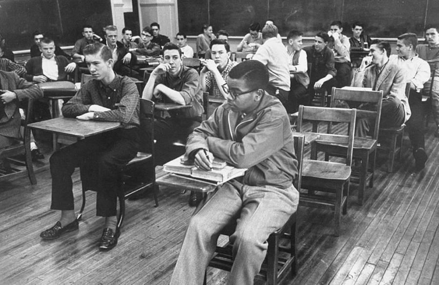Lewis Cousins Desegregated Class