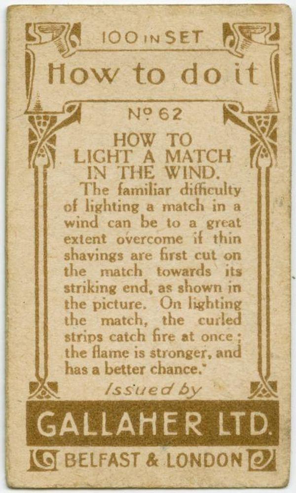 Light Match In Wind Back