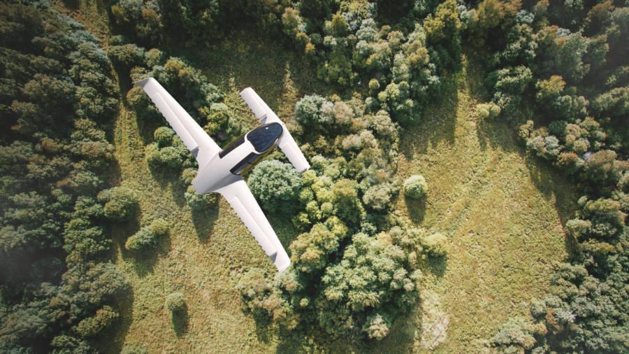 Lilium Jet Flying