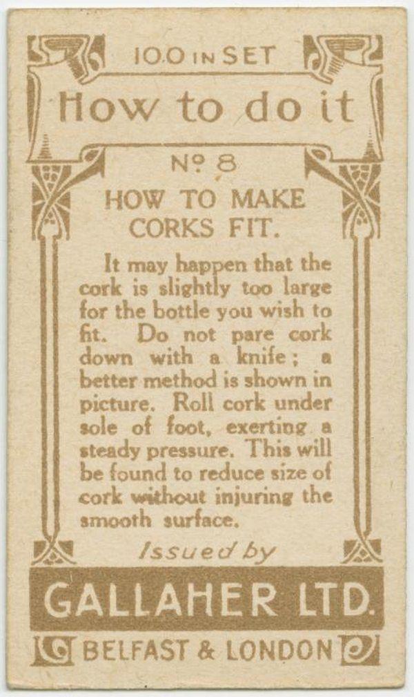 Make Corks Fit Back