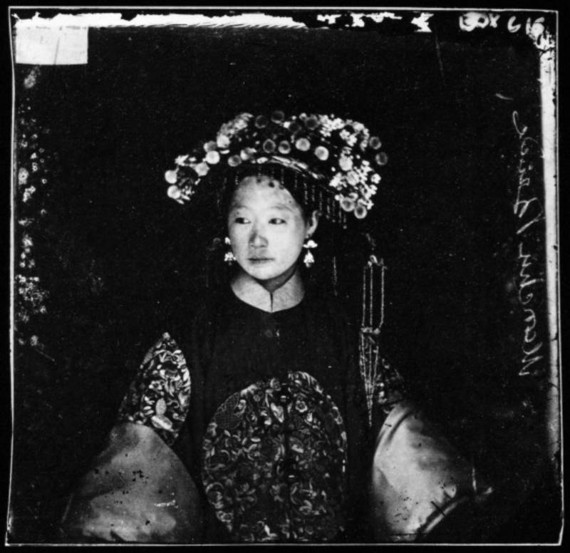 Manchu Bride In Peking