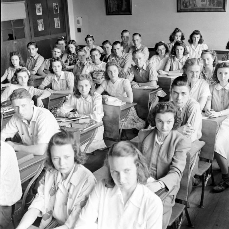 Mansfield High Segregated Classroom