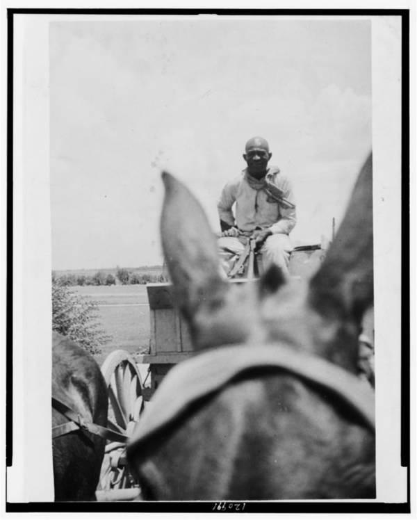 Moses Platt On Horseback