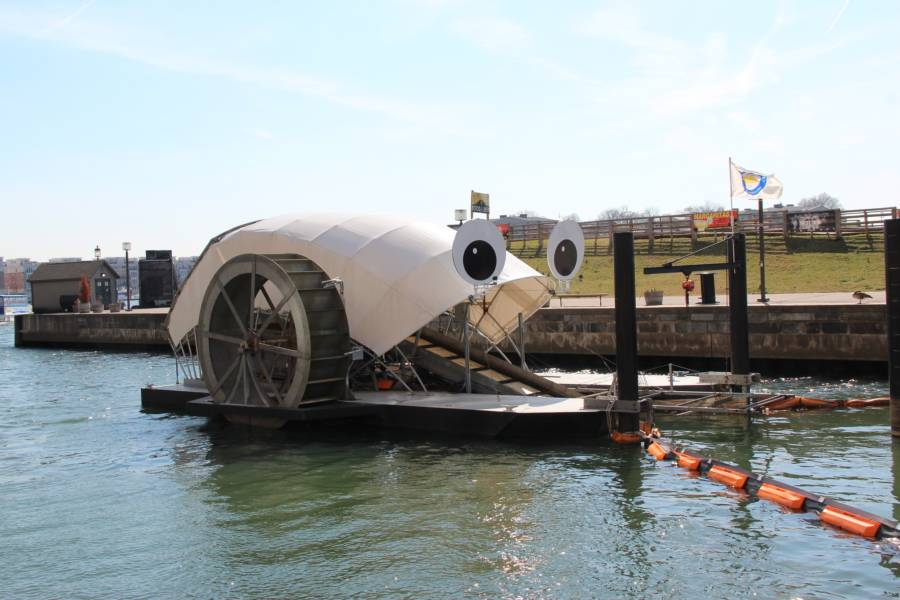 Mr. Trash Wheel In Baltimore