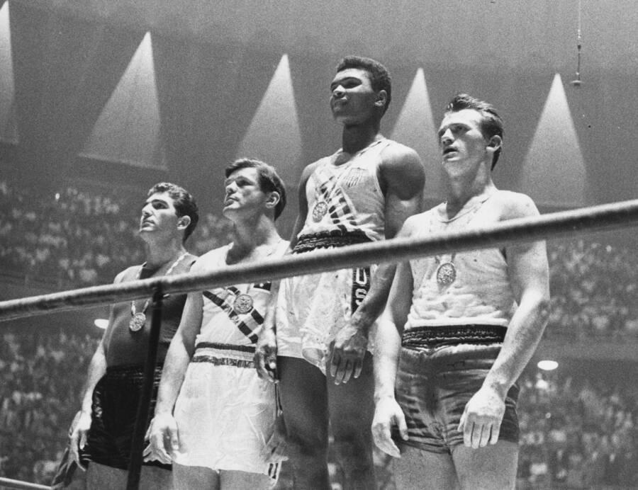 Muhammad Ali At Rome Olympics