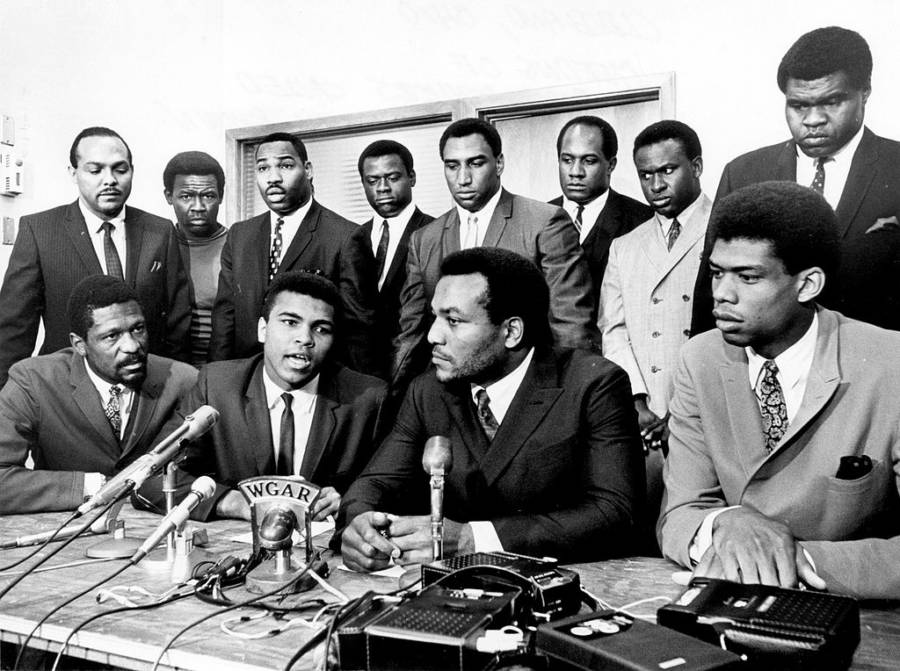 Muhammad Ali Press Conference