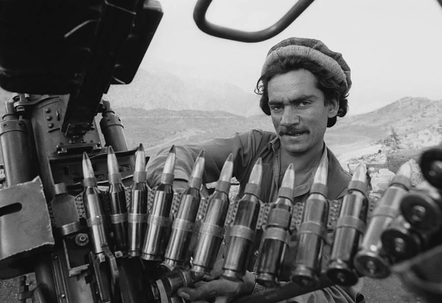Mujahideen Anti Aircraft Gun