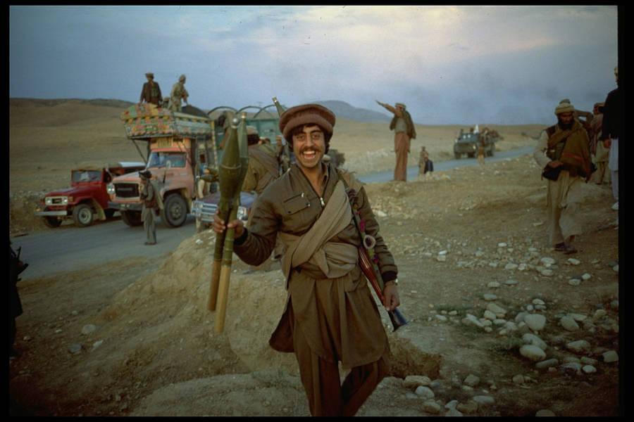 Mujahideen Rebel With Rpg