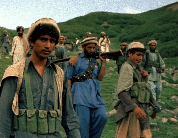 Mujahideen Walking Color