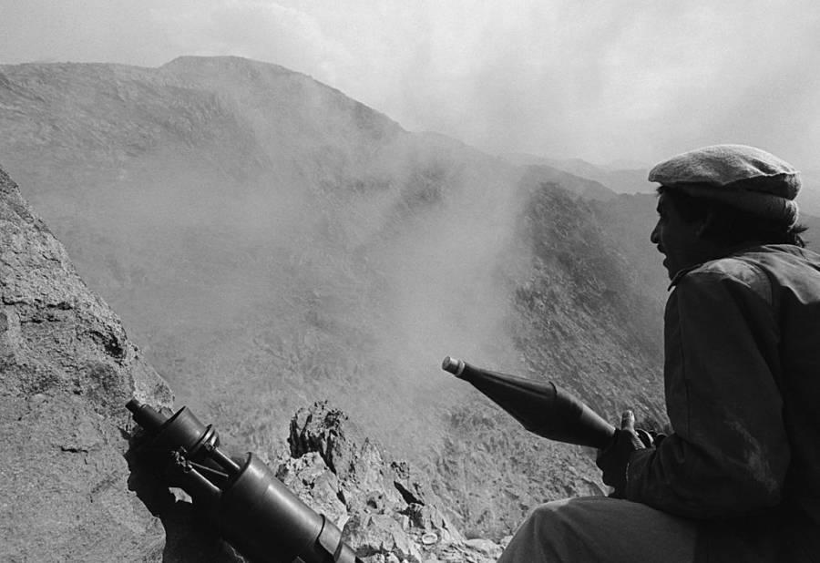 Mujahideen With Rpg