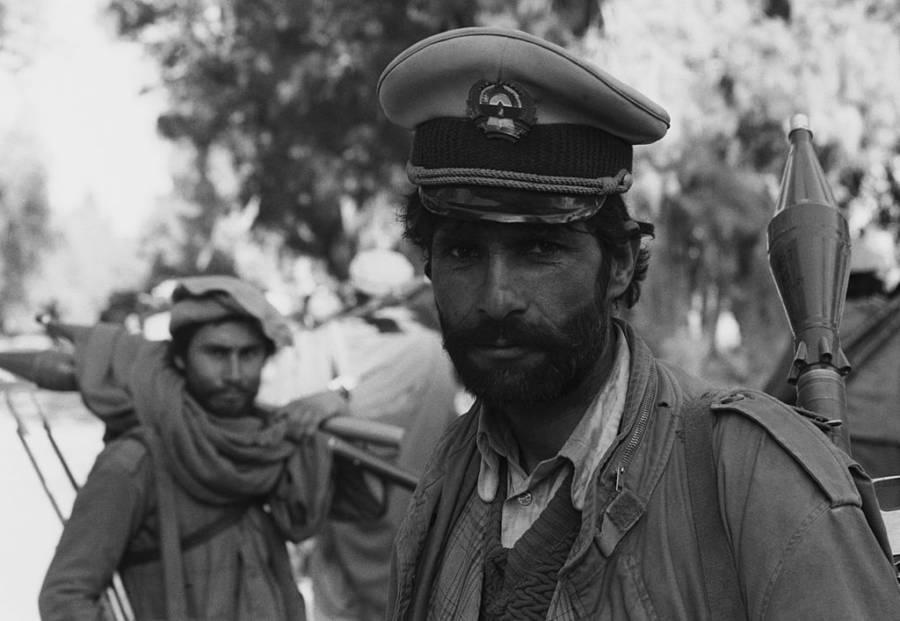 Mujahideen With Soviet Cap