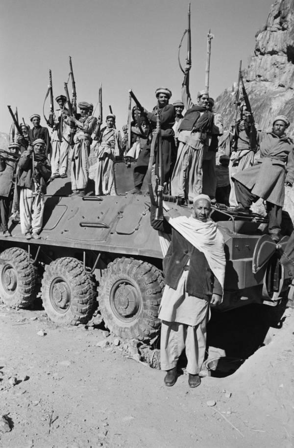 Mujahideen With Tank