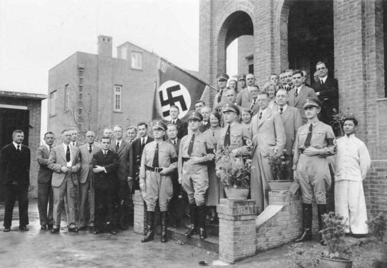 Nazi Flag Steps
