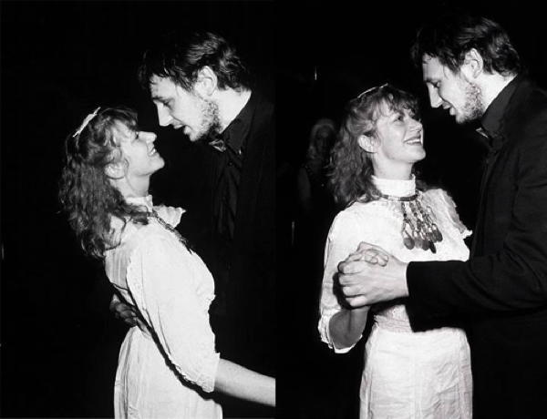 Liam Neeson And Helen Mirren Dance