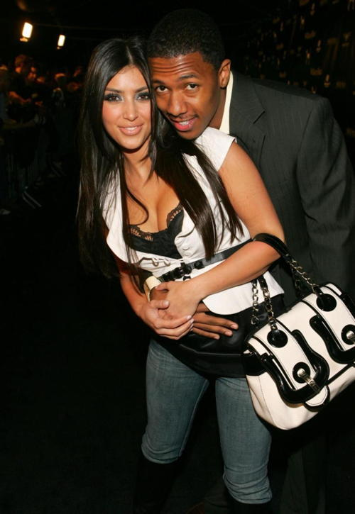 Old Loves Kim Kardashian and Nick Cannon