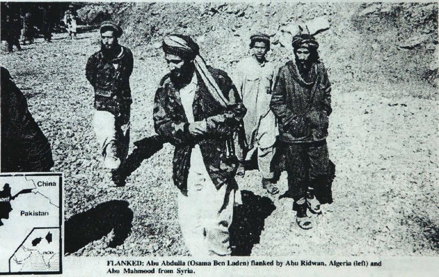 Osama Bin Laden Fighting