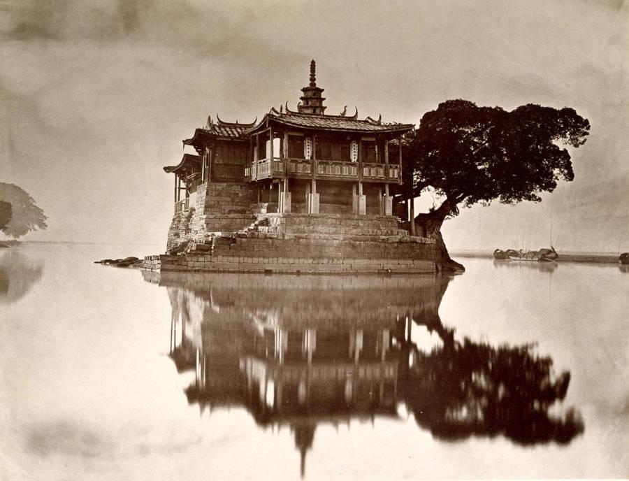 Pagoda Reflection