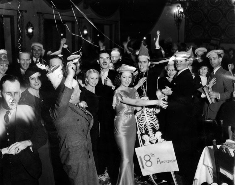 Party Celebrating Prohibition Ending
