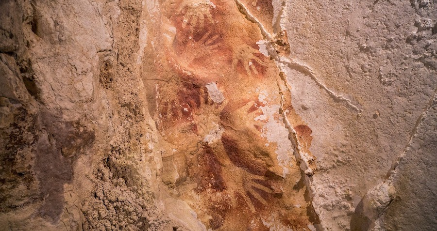 Pleistocene Cave Art In Indonesia