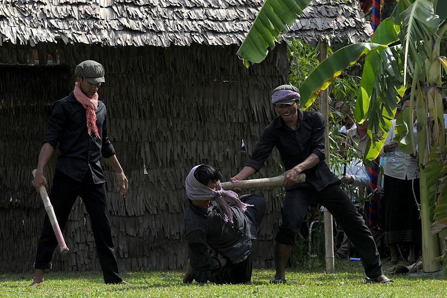 Pol Pot Execution Reenactment
