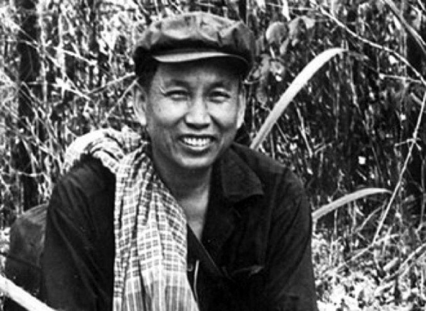 Pol Pot Smiling