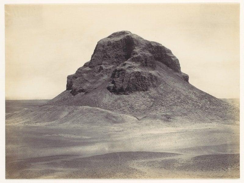 Pyramid At Dahshur