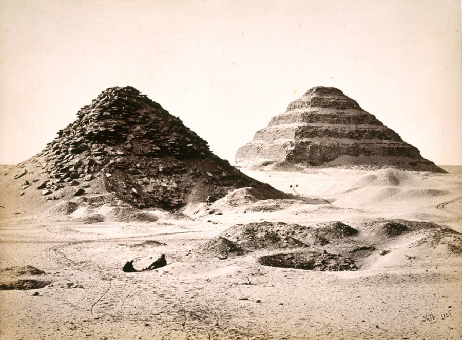 Pyramids Rocks
