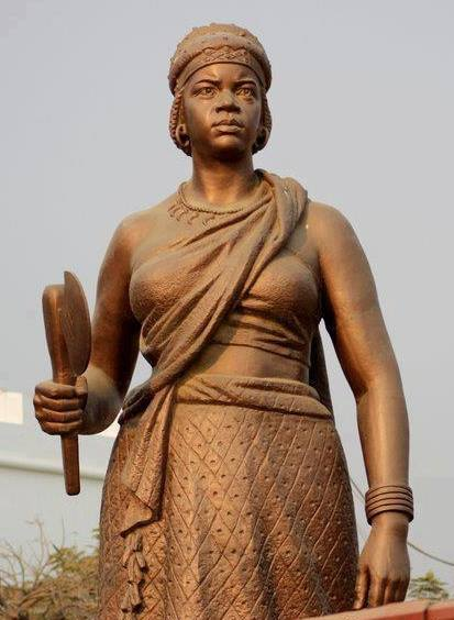 Queen Nzinga Mbande Statue