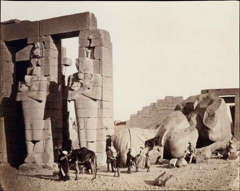 Rameseum Of El Kurneh