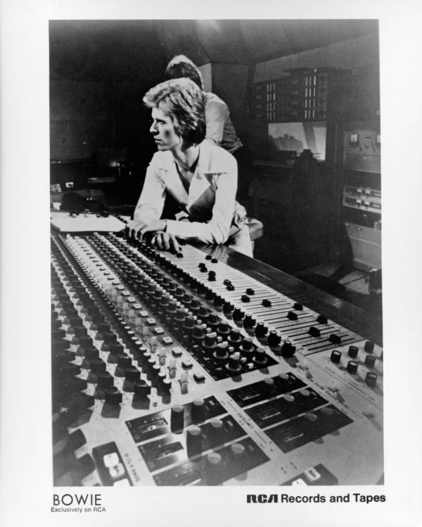 Recording Bowie