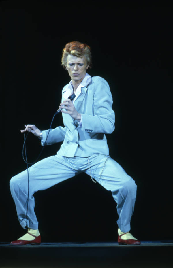 Red Shoe Bowie Suit