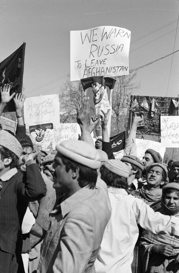 Refugees In Pakistan Protesting