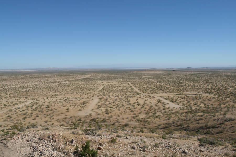 Roads Desert Sky