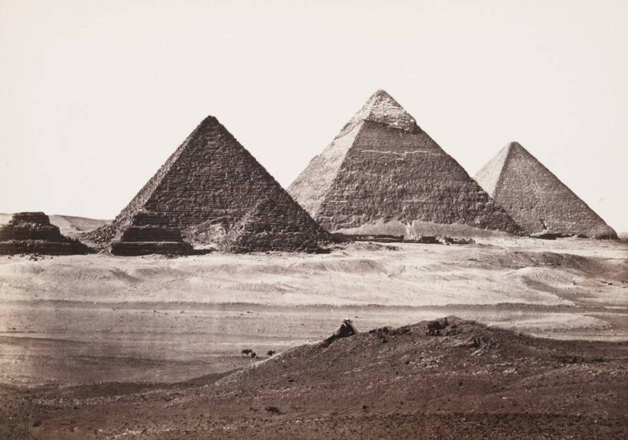 Row Of Pyramids