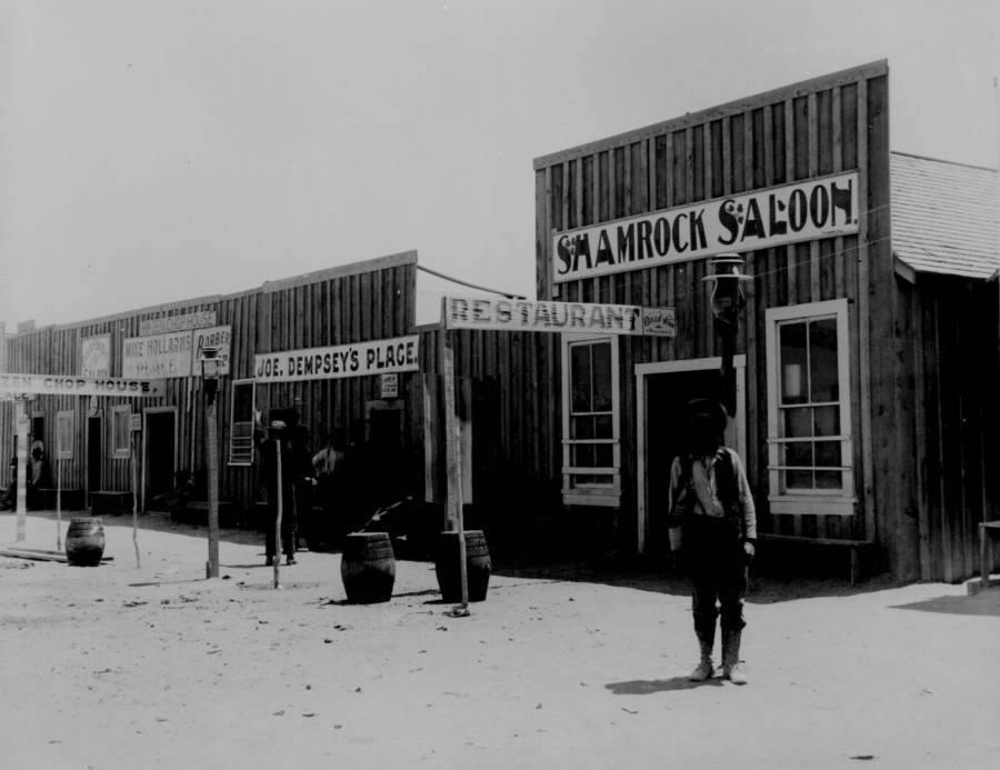 Saloon Shadows American Frontier