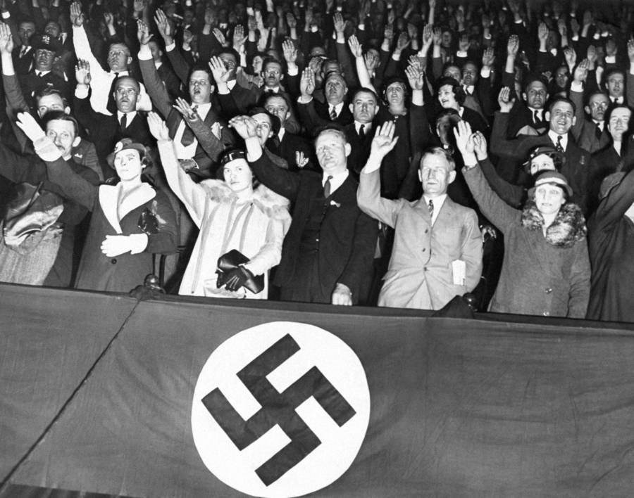 Salute Swastika Banner