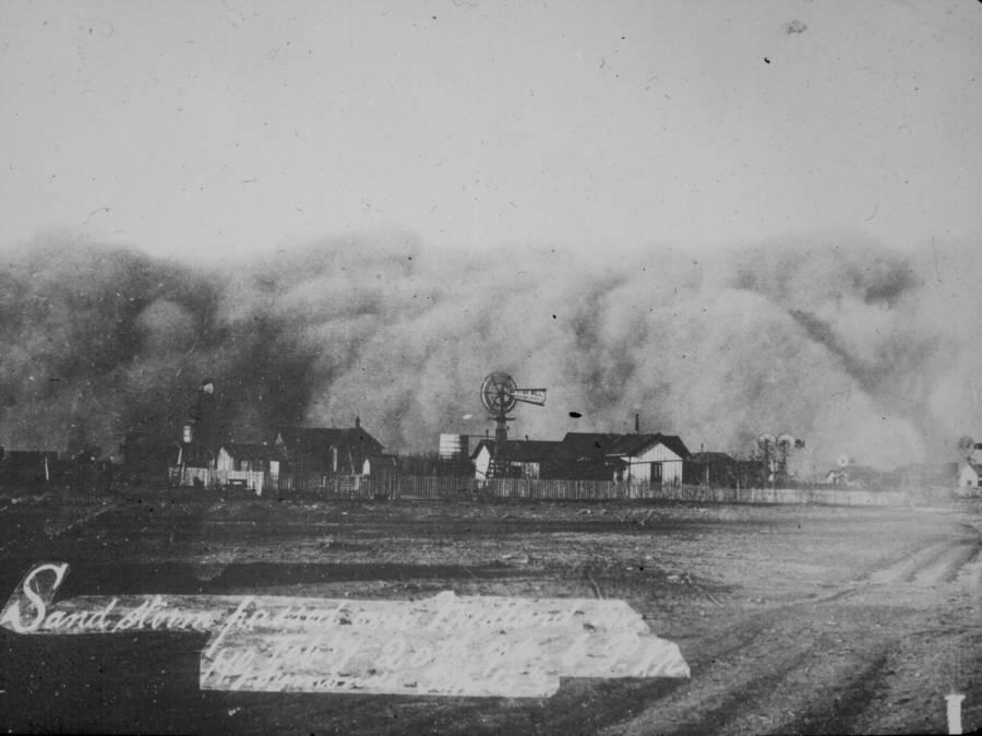 Sandstorm Over Midland Texas