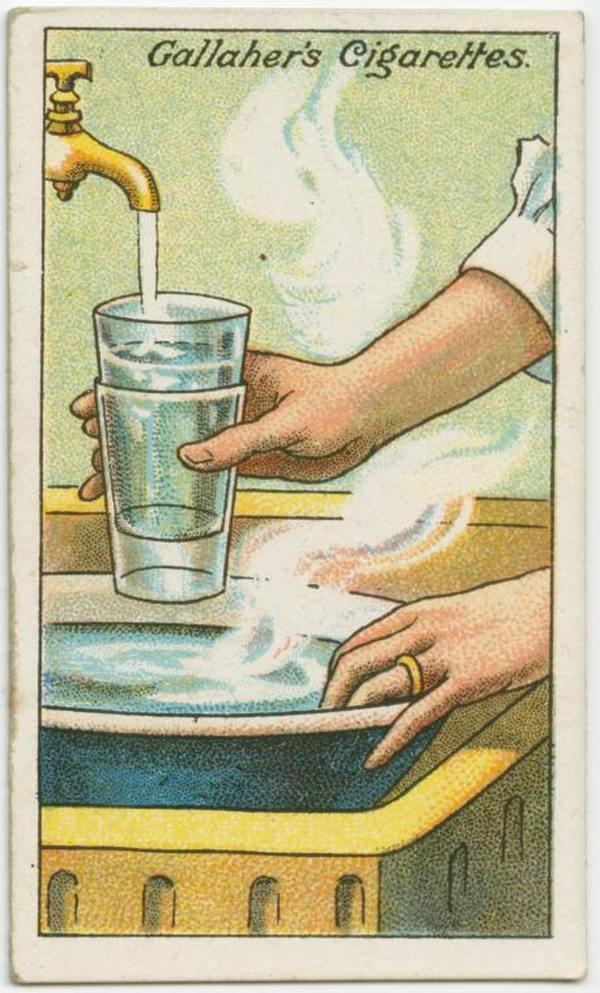 Separate Glass Tumblers